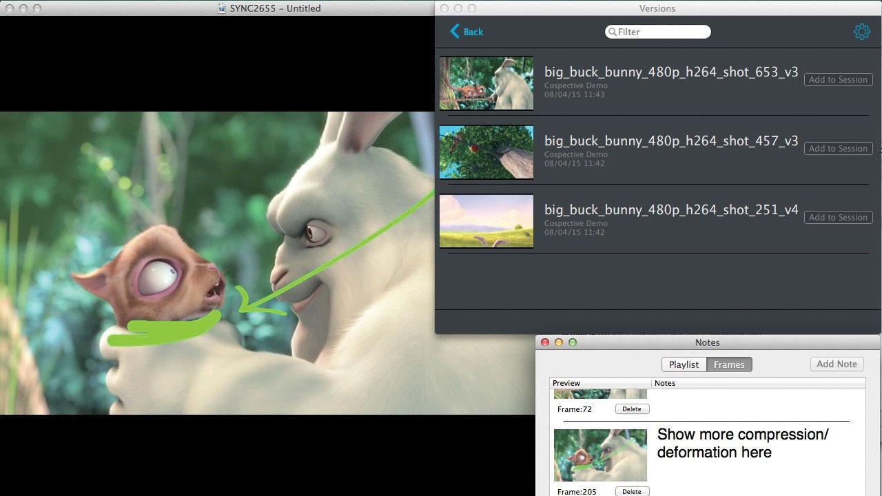 cinesync screenshot