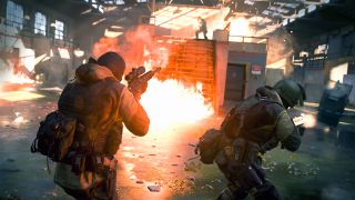 Modern Warfare Gunfight 2v2 multiplayer mode