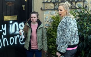 Emmerdale star Amy Walsh reveals Tracy Metcalfe's life is being made hell by a troll!