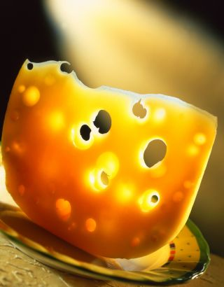 cheese, holes, why are there holes in swiss cheese