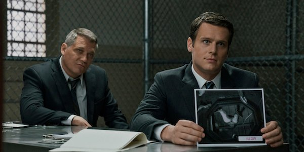 Holden and Bill in Mindhunter