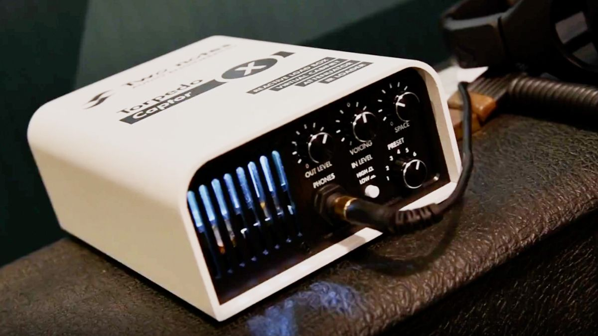 NAMM 2020 video: Check out the all-in-one Torpedo Captor X by Two Notes Audio Engineering