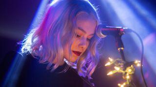 Phoebe Bridgers performs at Lodge Room on December 16, 2017 in Los Angeles, California