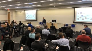 On Monday morning, IMCCA's first-ever NY Collaboration Week kicked off with a series of presentations and a panel discussion sponsored by Crestron at Microsoft's Times Square office.