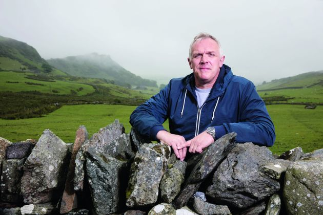 Greg Davies is hoping he can solve a family riddle...
