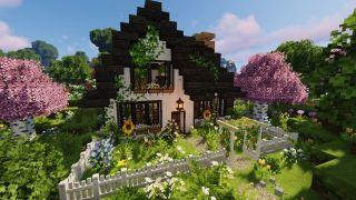 Minecraft cottage