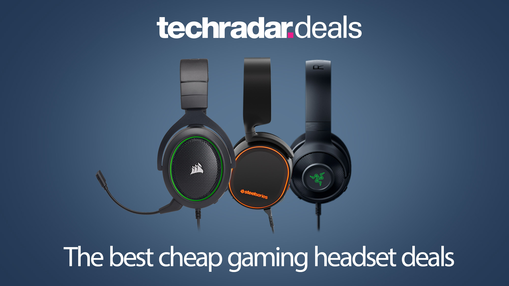 The Best Cheap Gaming Headset Deals For February 2021 Techradar