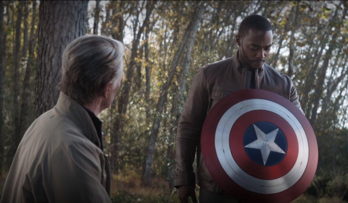 Falcon and Captain America
