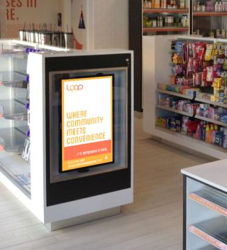 Samsung Smart Signage Platform Powers Convenience Store Signage