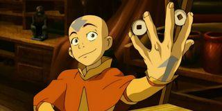 Aang on Avatar: The Last Airbender (2005)