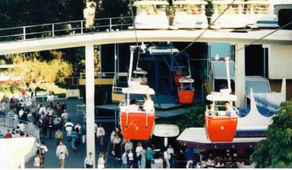 Disneyland Skyway