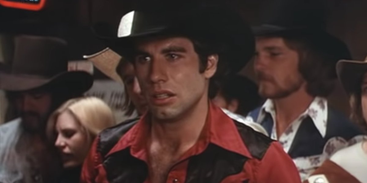 John Travolta in Urban Cowboy