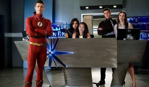 Barry Team Flash The Flash