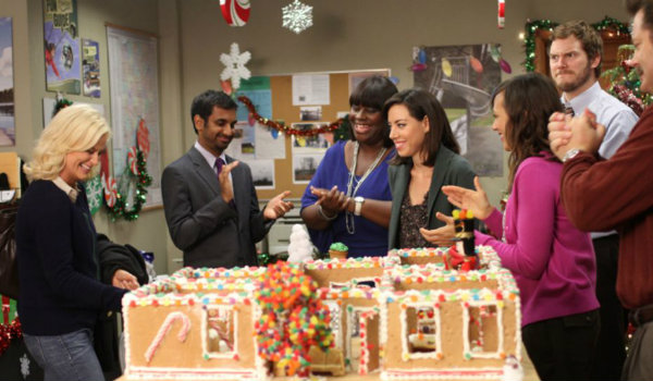 parks and recreation christmas - Best Christmas Episodes On Netflix