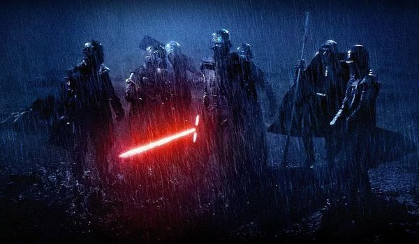 The Knights of Ren from Star Wars: The Force Awakens