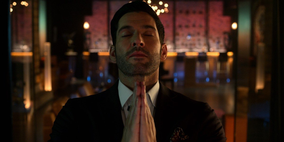 Lucifer praying Lucifer Netflix