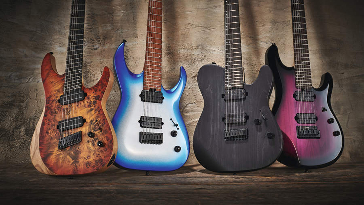 Review round-up: mid-priced seven-string electric guitars | MusicRadar