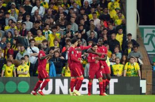 Norwich City v Liverpool – Carabao Cup – Third Round – Carrow Road