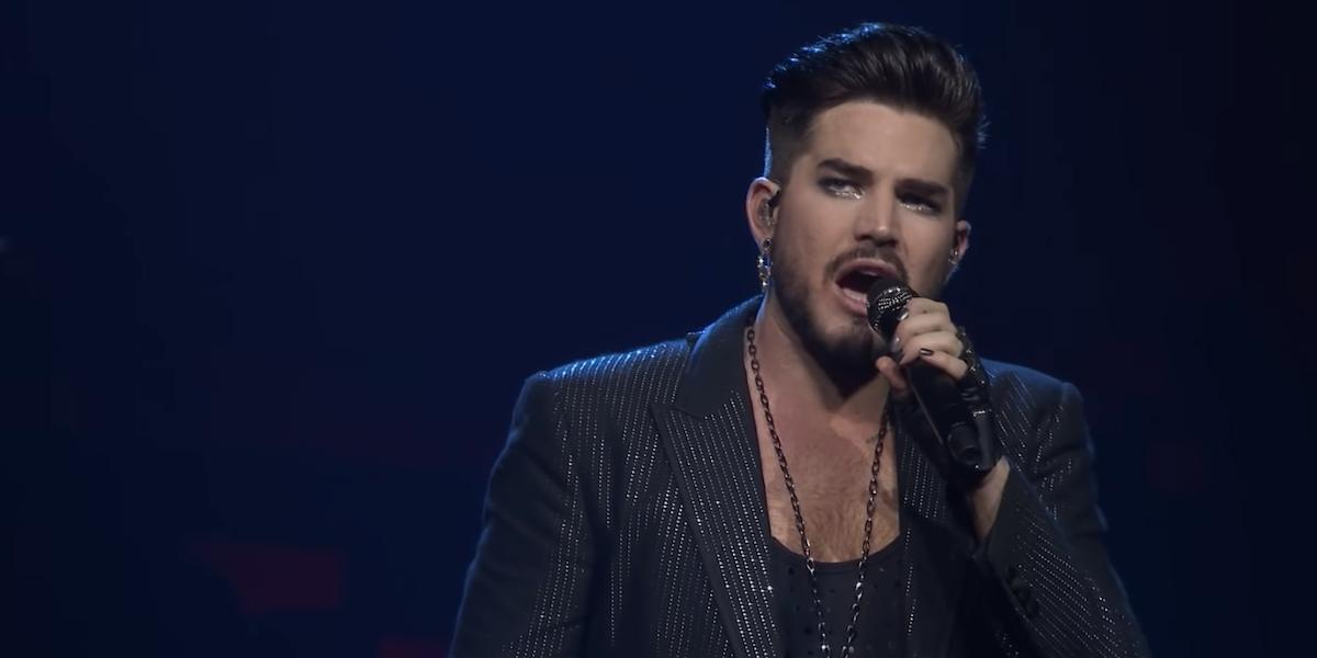 Adam Lambert in Queen + Adam Lambert Live In London