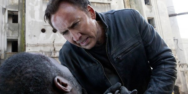 Nick Cage in Ghost Rider