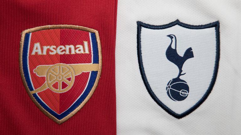 Arsenal vs Tottenham jersey badges