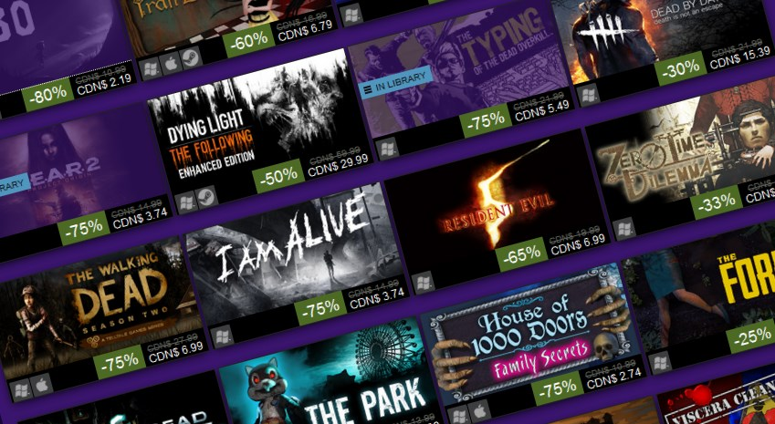 The 2016 Steam Halloween Sale is live   PC Gamer