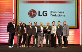 LG Business Solutions Recognized as CDW Partner of the Year