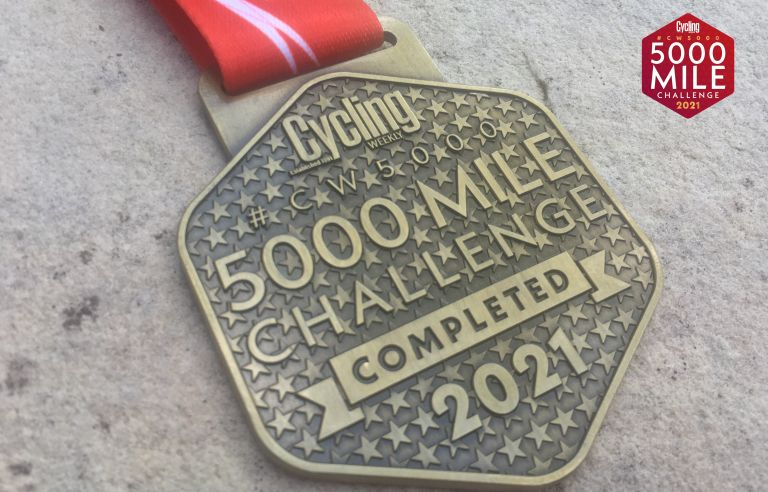 CW5000 finishers medals