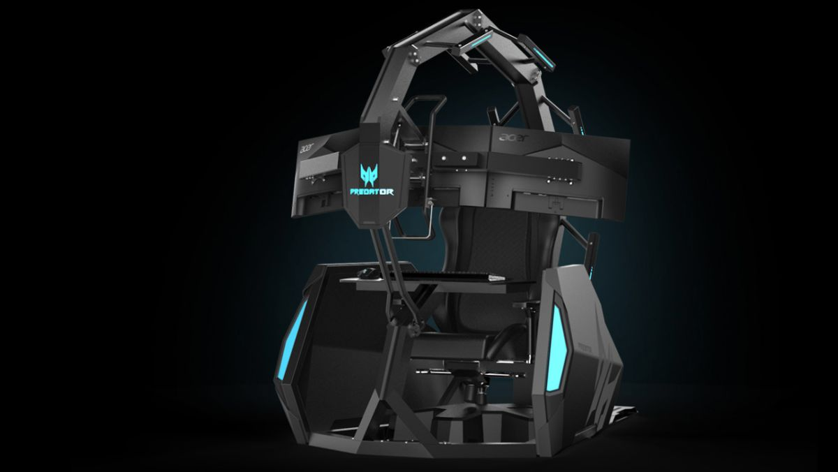 Acer S 14k Predator Thronos Air Gaming Chair Is The