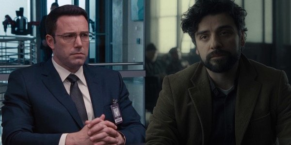 Ben Affleck and Oscar Isaac