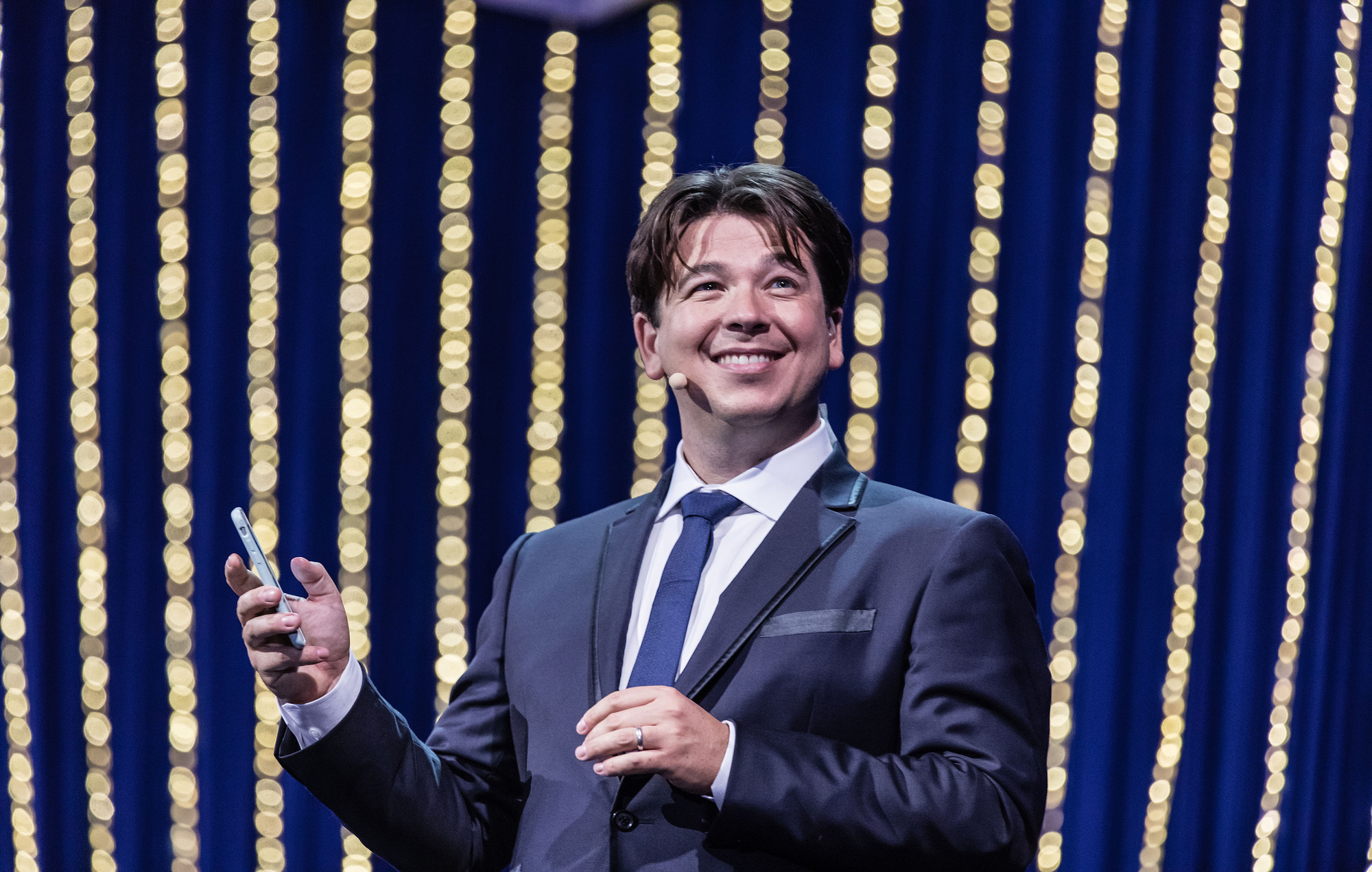 Michael McIntyre: 'I woke up with the whole of Westlife!'