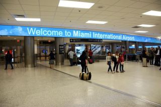 200 Foot Long NanoLumens LED in Miami International