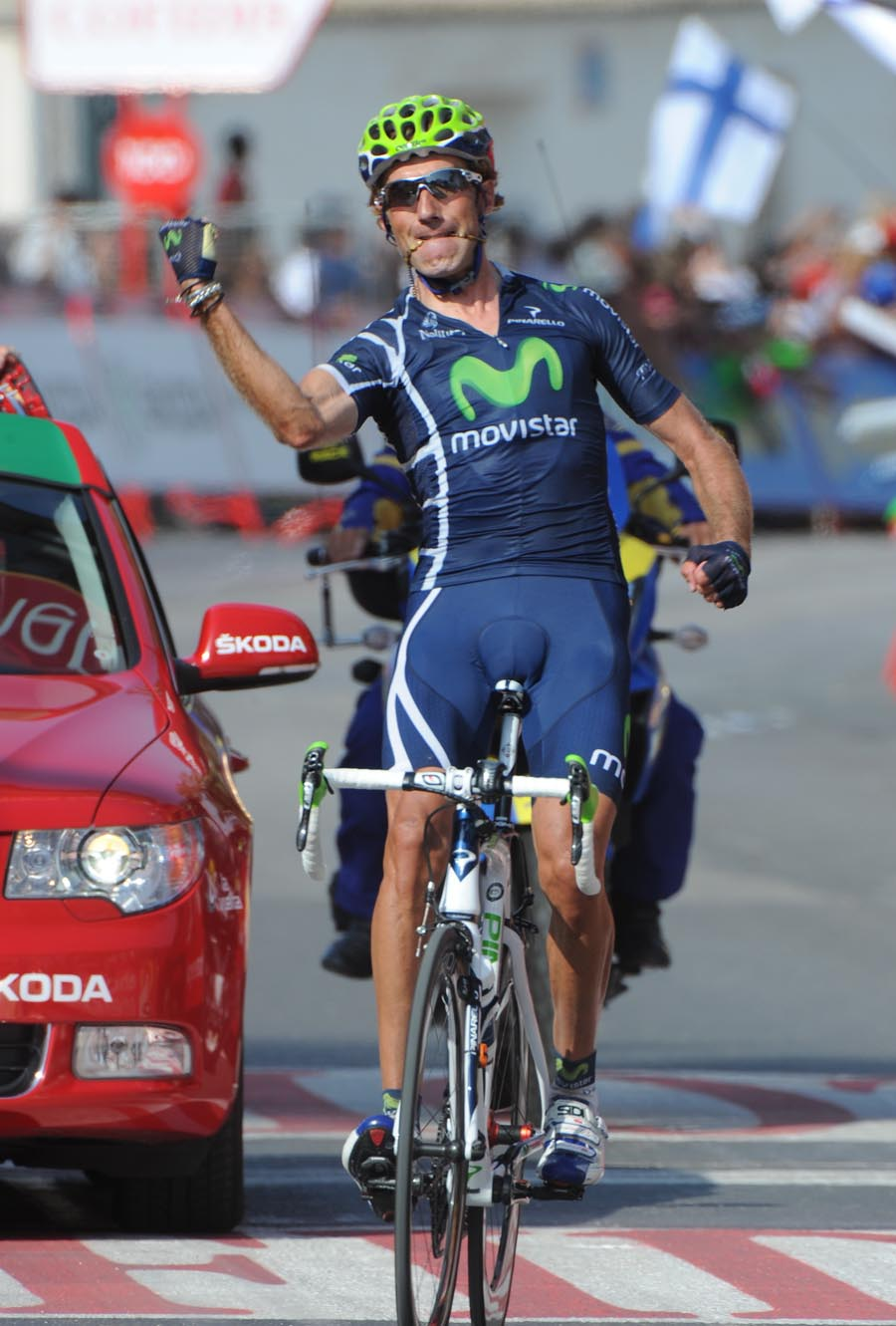 Pablo Lastras wins, Vuelta a Espana 2011, stage three