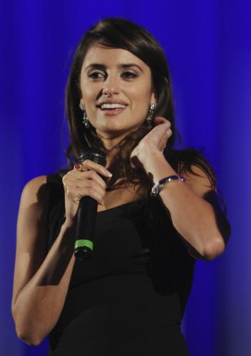 Penélope Cruz at the LFF screening of Vicky Cristina Barcelona