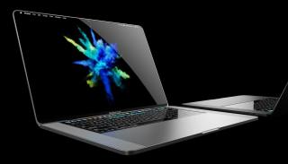 Concepto de MacBook Pro del futuro