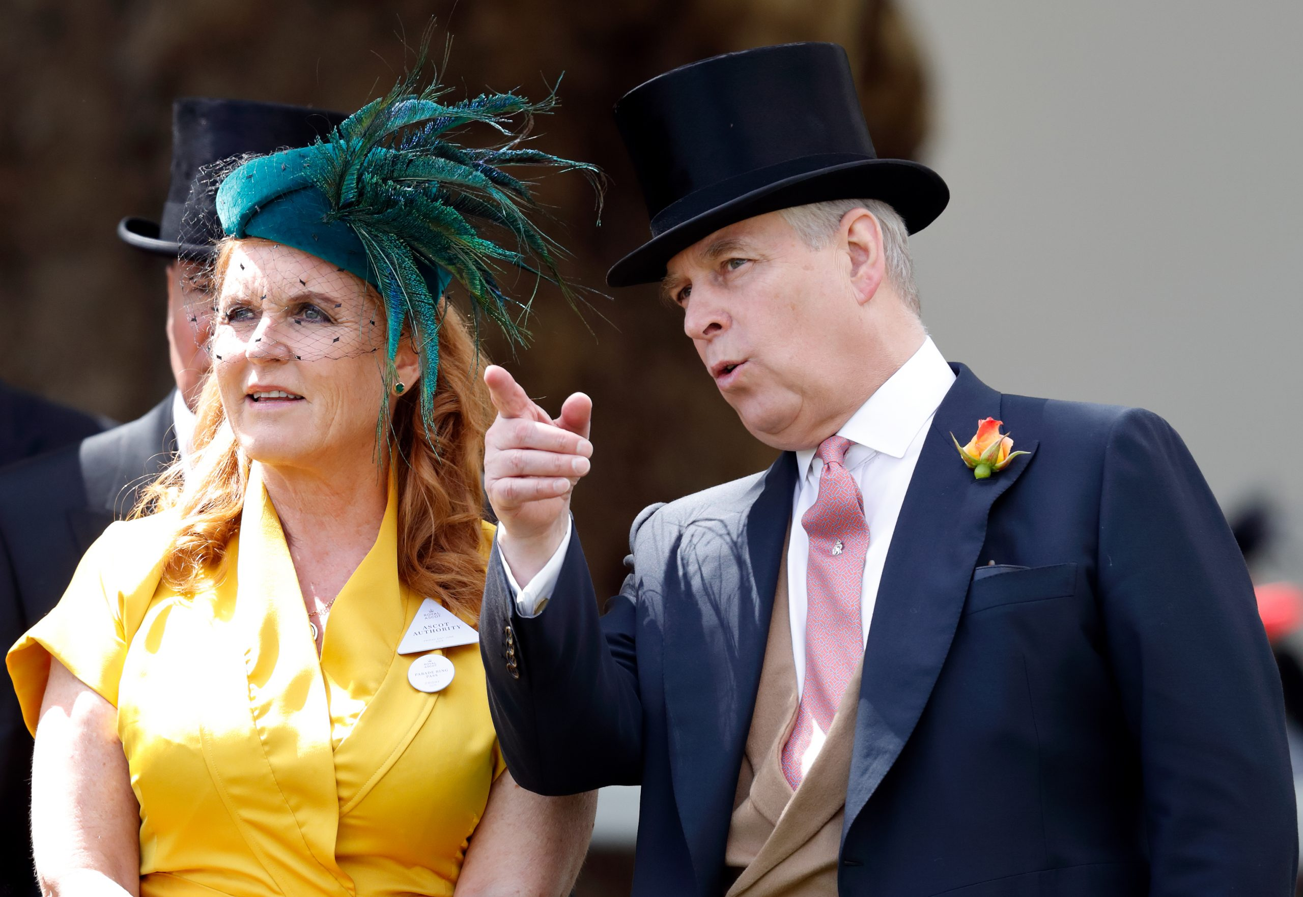 Prince Andrew And Sarah Ferguson Pictured For The First Time Since