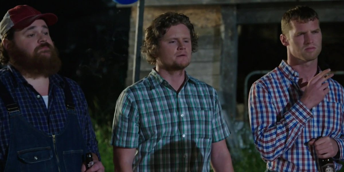 K. Trevor Wilson, Nathan Dales, and Jared Keeso on Letterkenny