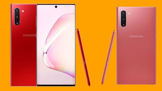 Samsung has two new, limited Galaxy Note 10 colors for the holidays