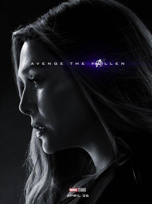 Elizabeth Olsen in endgame