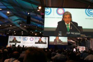 Climate negotiations, lima, peru