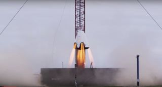 SpaceX's Dragon 2 Hover Test