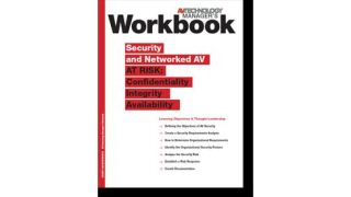 Workbook to Security and Networked AV