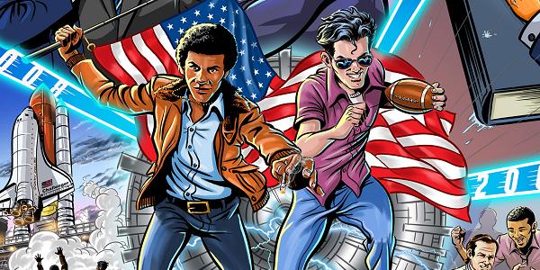 Barry And Joe The Animated Series Adam Reid