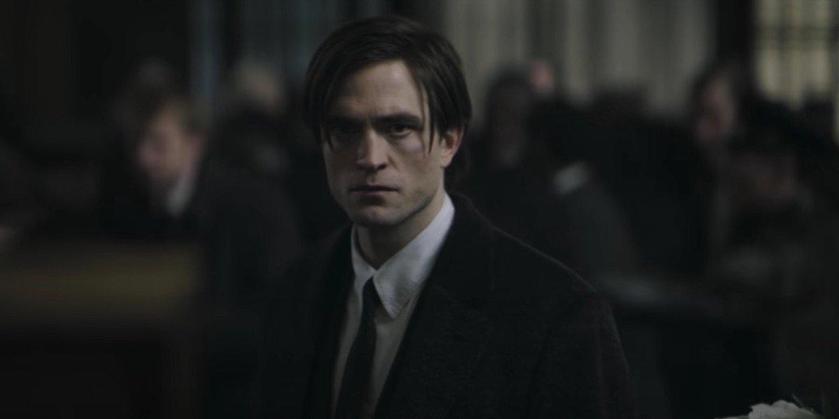 Robert Pattinson as Bruce Wayne in DC's The Batman