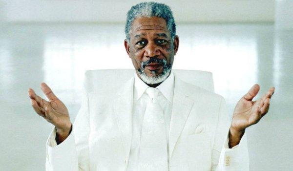 Morgan Freeman as God