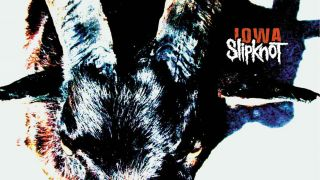 An imagine of the Slipknot Iowa album cover art