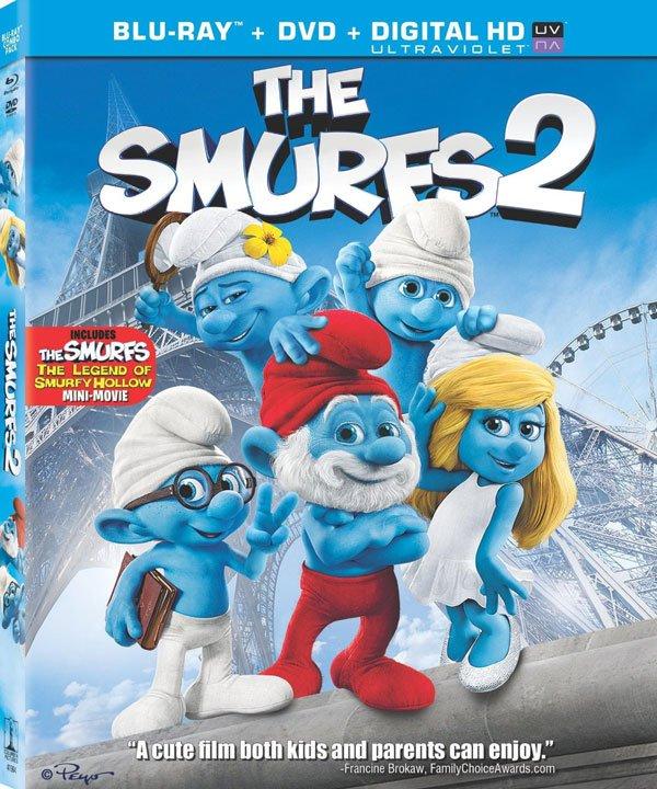 Smurfs 2 box