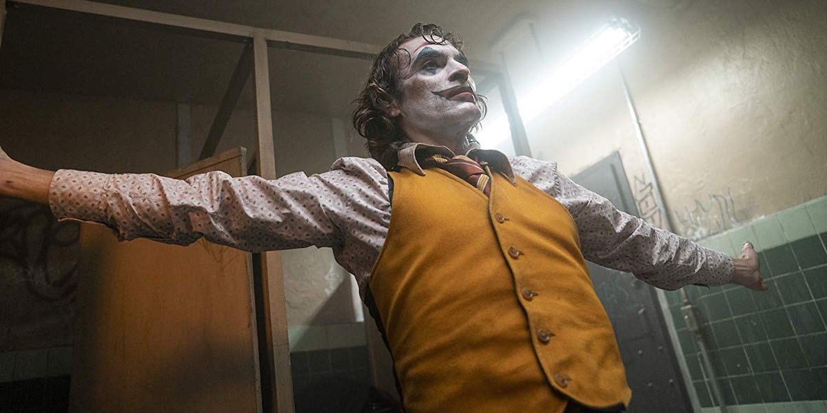 Joaquin Phoenix dancing in Joker