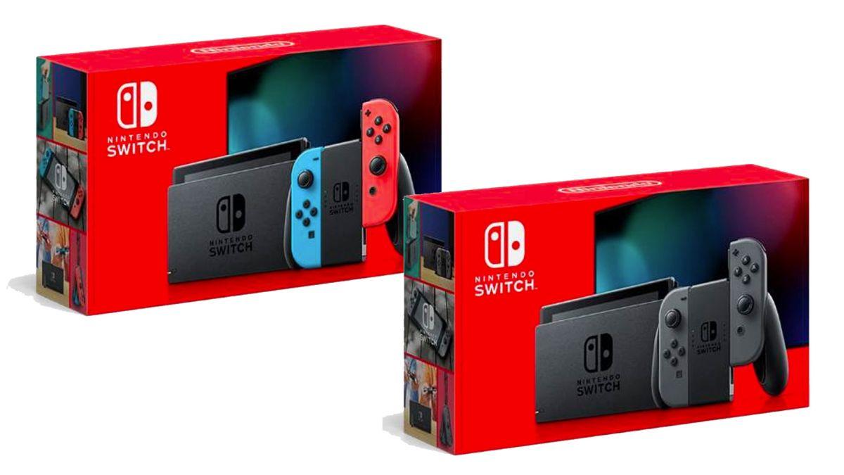 Die verbesserte Nintendo Switch