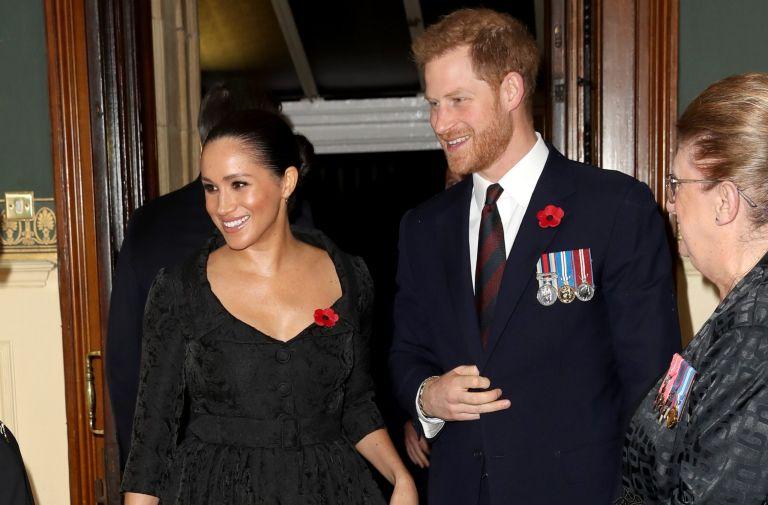 prince harry duchess meghan share emotional message